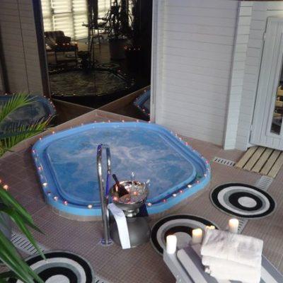 Hotel Restaurant spa Aigue Marine espace_détente_1