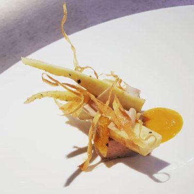 Restaurant Aigue Marine foie gras panais clémentine